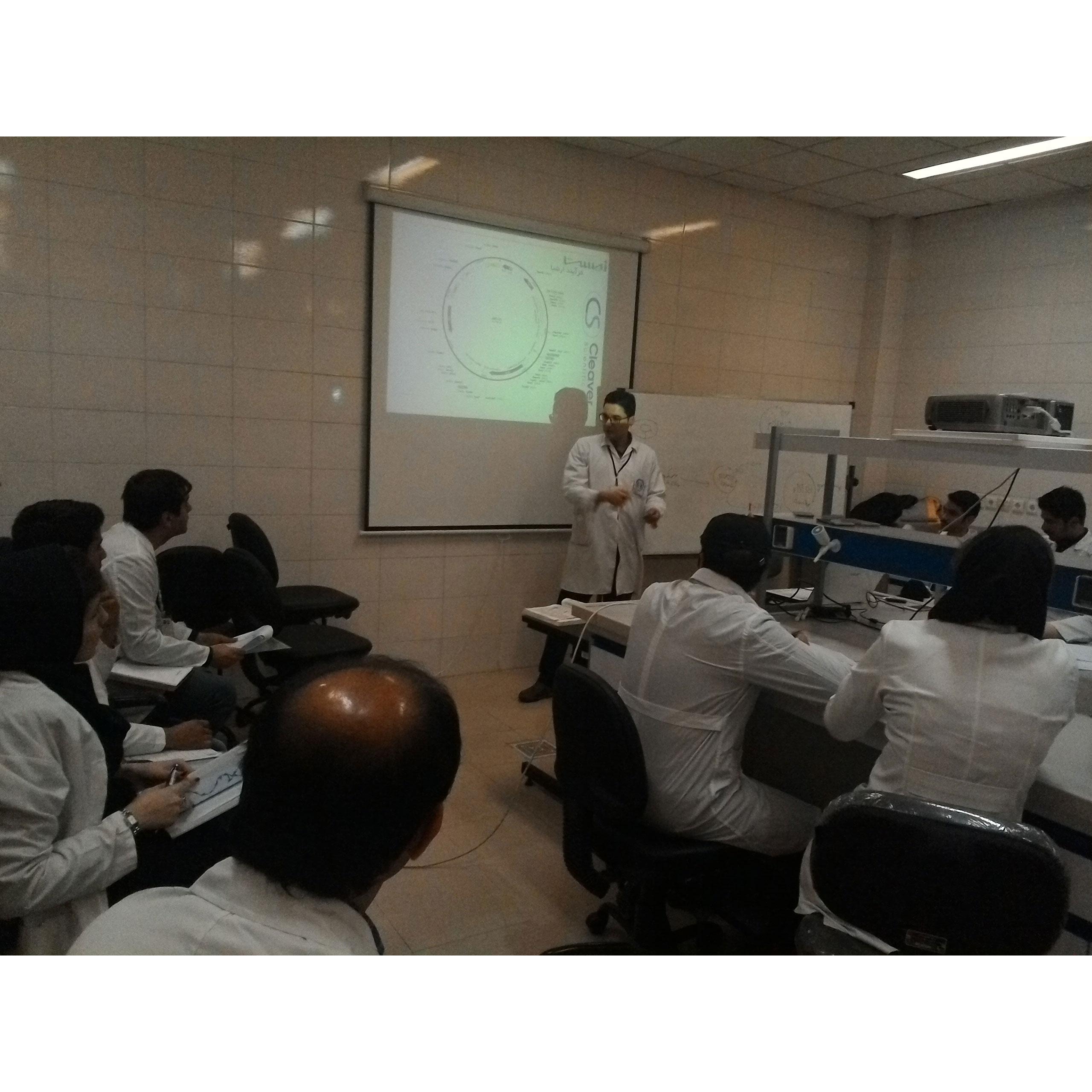 کارگاه تکنیکهای کلونینگ مهندسی ژنتیک