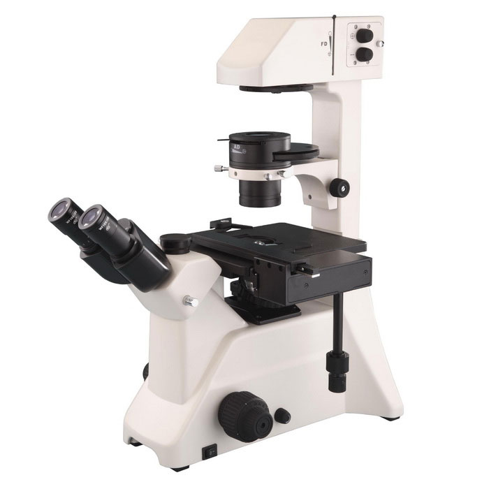 میکروسکوپ اینورت سه چشمی LIM-300