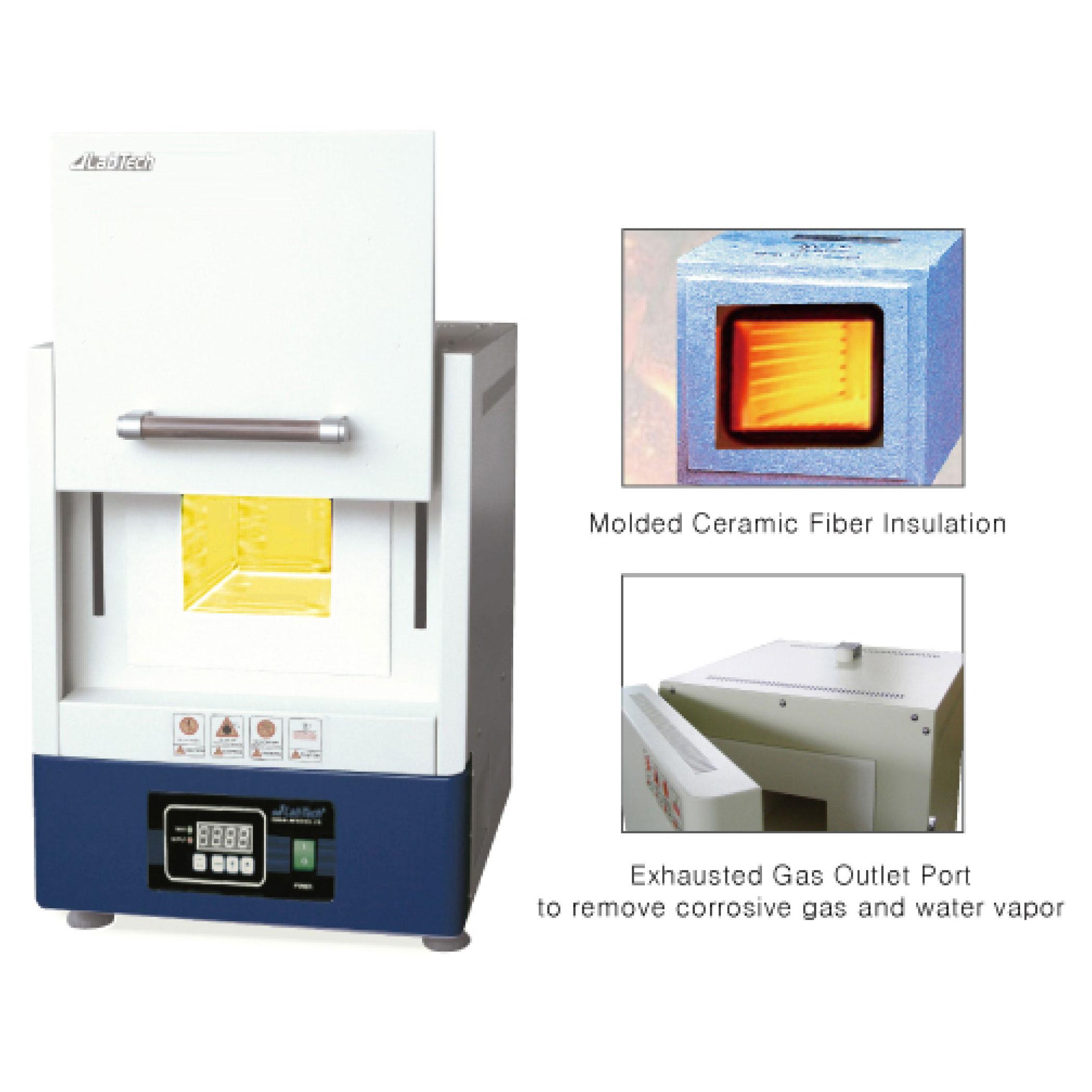 کوره آزمایشگاهی (1100 تا 1700 درجه)
