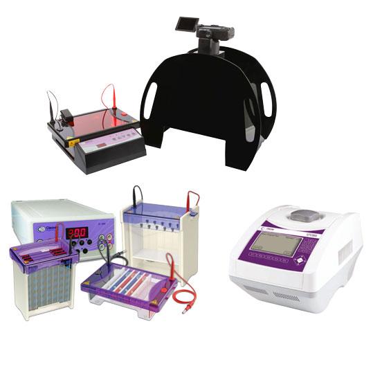 الکتروفورز، ژل داکیومنتیشن و پی سی آر ( PCR )