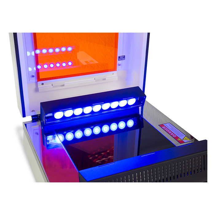 ترانس ایلومیناتور با 2 نور BLUE LED/ UV