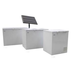 فریزر آزمایشگاهی خورشیدی صندوقی
